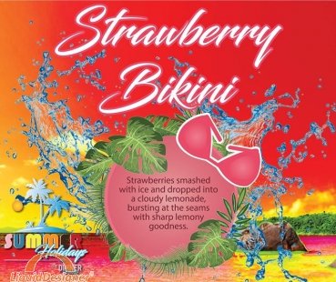 Dinner Lady Strawberry Bikini *SALE*